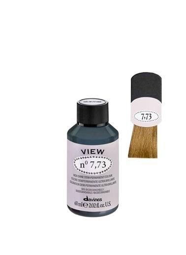 Davines Davines View Yarı Kalıcı Saç Boyası 7,73 Orta Kumral Bej Altın 60 Ml Renksiz